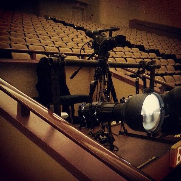 Photo taken at Lisner Auditorium by Reese B. on 5/19/2013