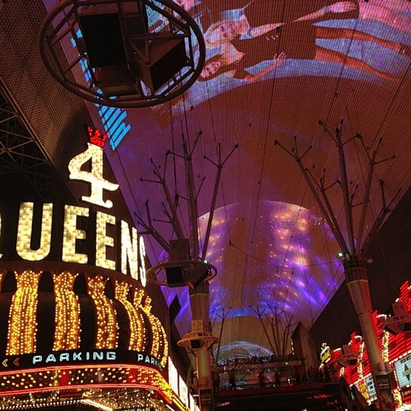 Photo taken at Fremont Street Experience by astounded on 5/18/2013