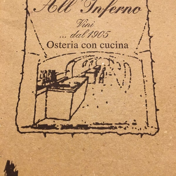 Photo taken at Osteria All'Inferno Dal 1905 by ba$ak on 9/30/2017