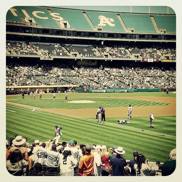 Photo taken at O.co Coliseum by Ali T. on 6/13/2013