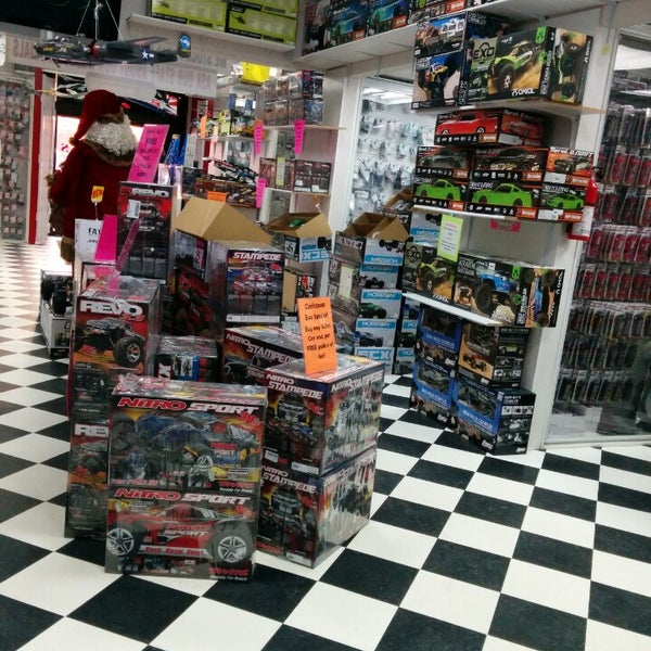 Toys For Boys Store : Big boys with cool toys hobby shop