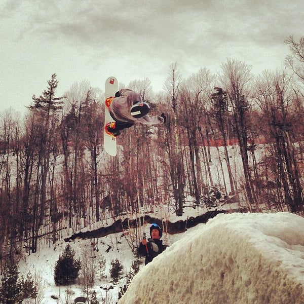 Photo taken at Whiteface Mountain by Jon C. on 2/19/2013