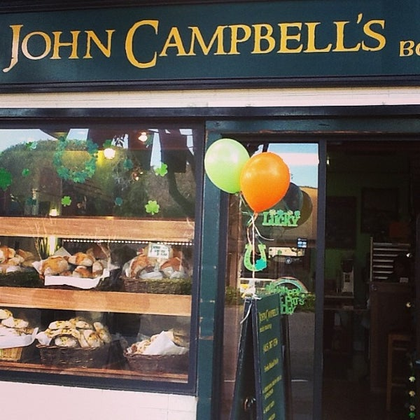 Photo taken at John Campbell's Irish Bakery by John Campbell's I. on 3/17/2014