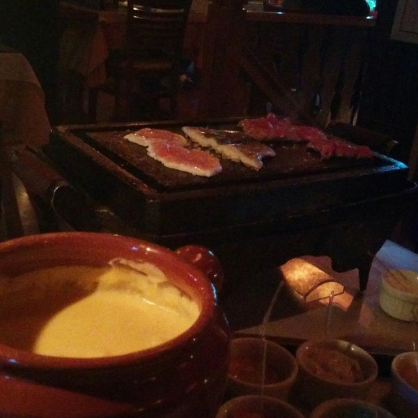 Fondue is really good!