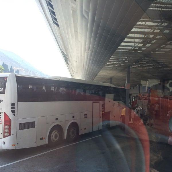 Photo taken at Autobusni Kolodvor Dubrovnik | Dubrovnik Bus Station by Kagan A. on 9/3/2015