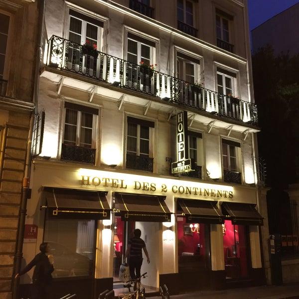 Photo prise au Hôtel des Deux Continents par Doe S. le10/2/2017