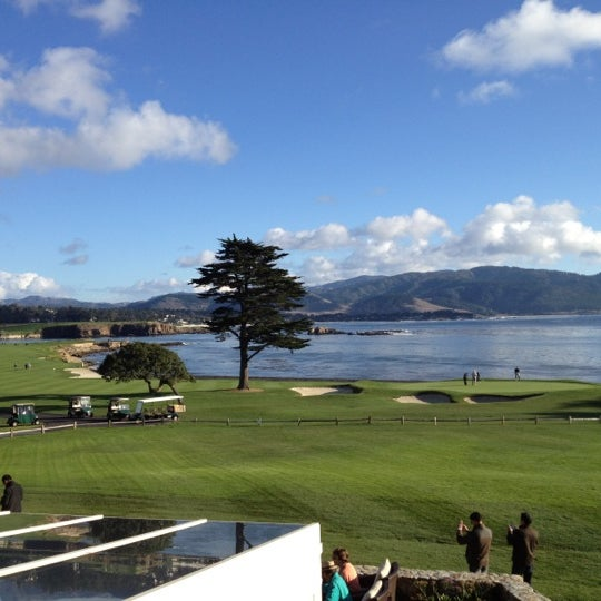 Photo taken at The Lodge at Pebble Beach by Bea P. on 11/9/2012