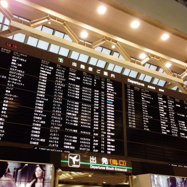 Photo taken at Narita International Airport (NRT) by shinpson on 11/15/2013