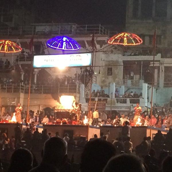 Photo taken at Dasaswamedh Ghat by Sumeet R. on 12/5/2015