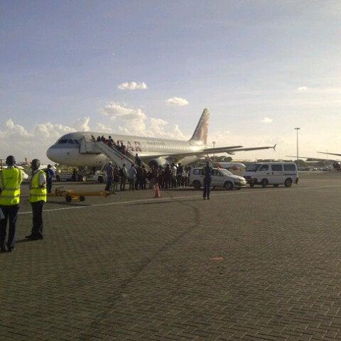 Photo taken at Jomo Kenyatta International Airport (NBO) by Hasnain M. on 2/13/2013