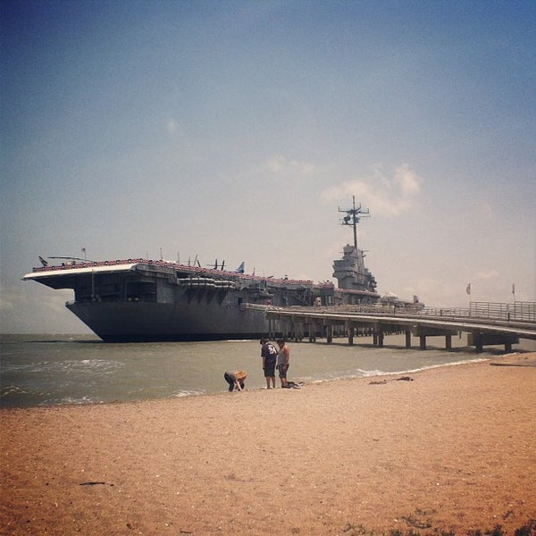 Photo taken at USS Lexington Museum On The Bay by Krystle M. on 5/19/2013