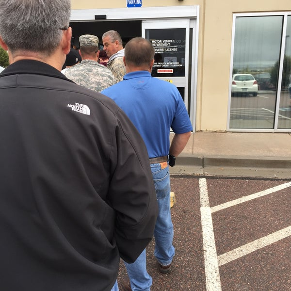 Buick Colorado Springs: Dept Of Motor Vehicles Colorado Springs