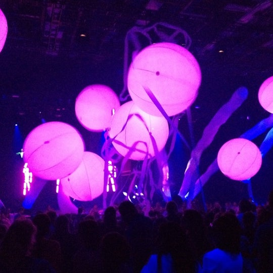 Photo taken at Blue Man Group at Universal CityWalk by Alex G. on 6/10/2012