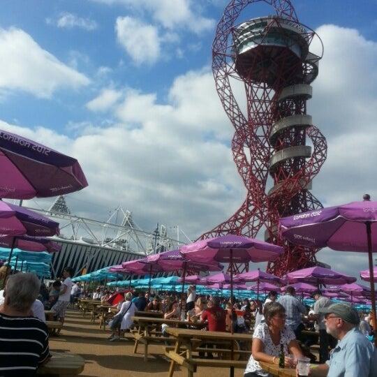 9/4/2012 tarihinde Ian H.ziyaretçi tarafından Queen Elizabeth Olympic Park'de çekilen fotoğraf
