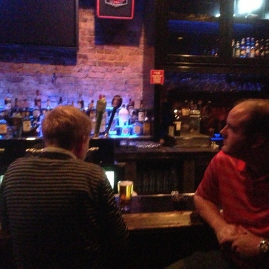 Photo taken at Halligan Bar by Jon M. on 12/1/2012