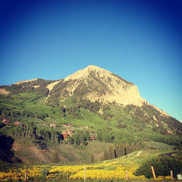 Photo taken at Crested Butte, CO by Carl O. on 6/15/2013