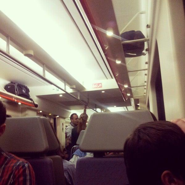Photo taken at Estació de Tren - València-Cabanyal by Ander J. on 12/22/2012