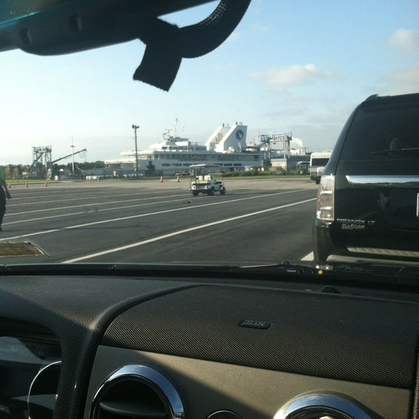 Photo taken at Cape May-Lewes Ferry | Cape May Terminal by Sarah F. on 7/26/2013