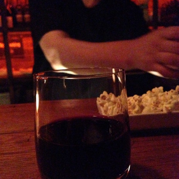 Photo taken at Custom Wine Bar by Julia M. on 4/27/2014