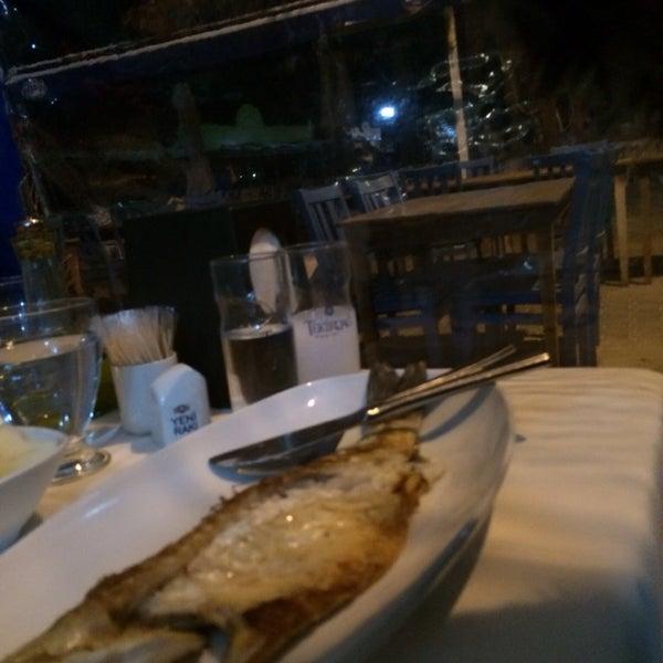 1/29/2014 tarihinde Hatun 🎈ziyaretçi tarafından Cunda Deniz Restaurant'de çekilen fotoğraf