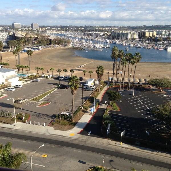 Photo taken at Marina Del Rey Marriott by Arjan d. on 1/27/2013
