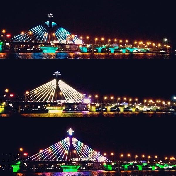Photo taken at Han River Bridge by AUManiac T. on 12/27/2012