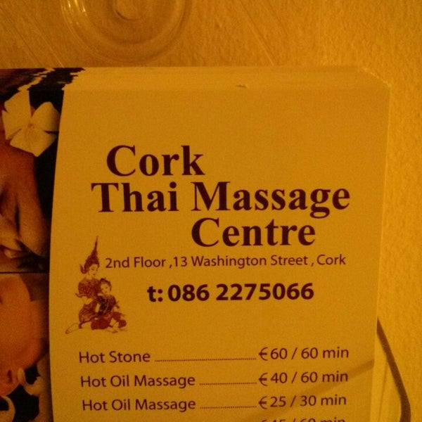 Thai massage cork happy ending