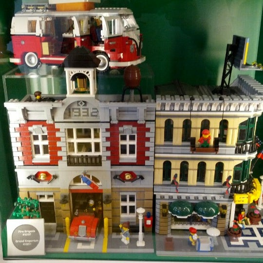 Photo taken at The LEGO Store by John B. on 7/8/2012