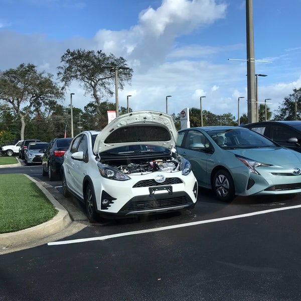 Photo Taken At Beaver Toyota St. Augustine By Norbert L. On 10/2