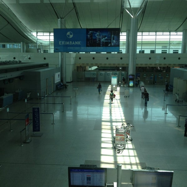 Photo taken at Tan Son Nhat International Airport (SGN) by Carla C. on 5/8/2013