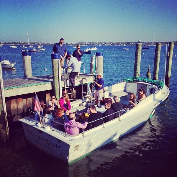 Photo taken at Nantucket Boat Basin by Brenda S. on 10/2/2013