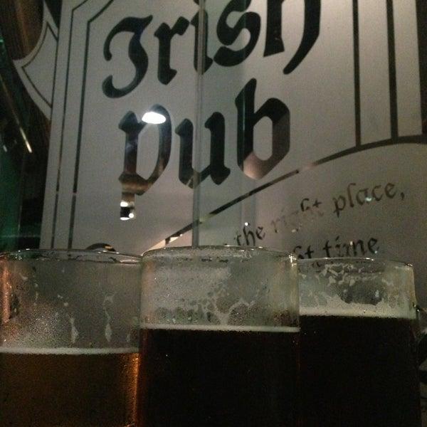 Photo taken at Dublin's Irish Pub by Erik H. on 2/1/2013