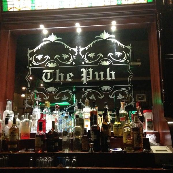 Photo taken at Dublin's Irish Pub by Erik H. on 11/9/2013