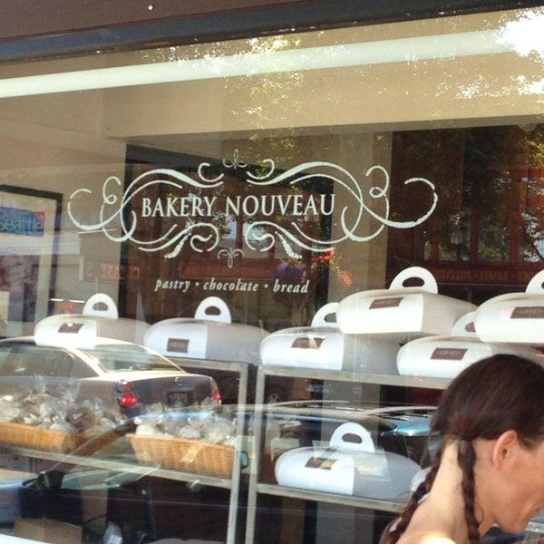 Photo taken at Bakery Nouveau by Cheryl C. on 7/6/2013
