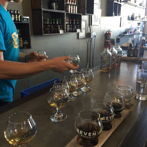 Photo taken at Seven Stills Brewery & Distillery by Julia S. on 7/24/2016