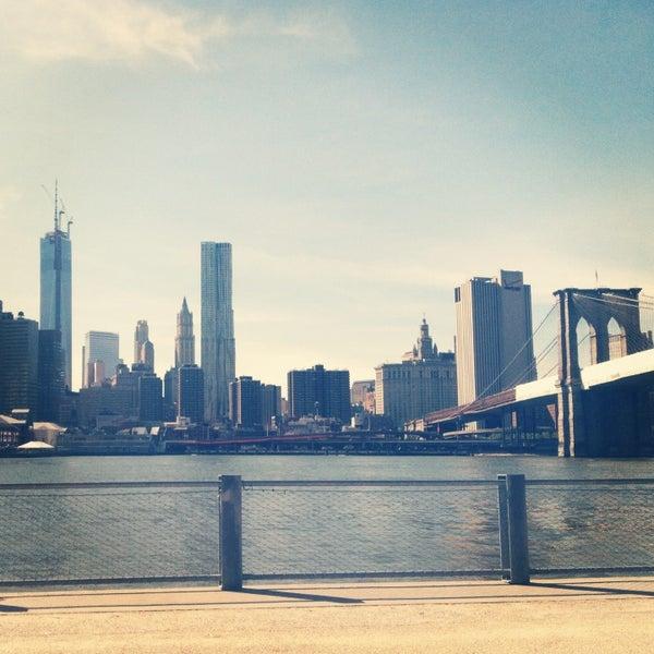 Photo taken at Brooklyn Bridge Park by Daniel R. on 5/17/2013