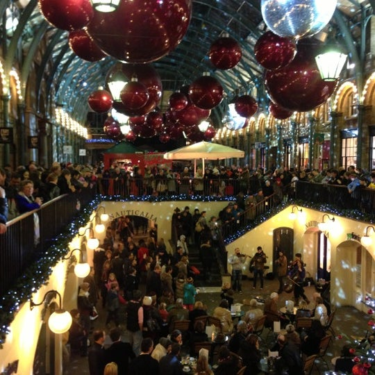 Photo taken at Covent Garden Market by Jason on 12/16/2012