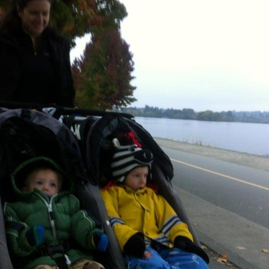 Photo taken at Green Lake Boathouse by Erik B. on 10/11/2012