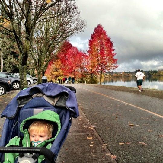 Photo taken at Green Lake Boathouse by Erik B. on 11/24/2012