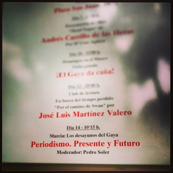 Foto tomada en Museo Ramón Gaya por Nacho T. el 11/14/2013