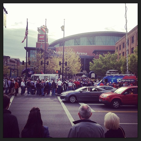 Photo taken at Nationwide Arena by Tom H. on 4/27/2013