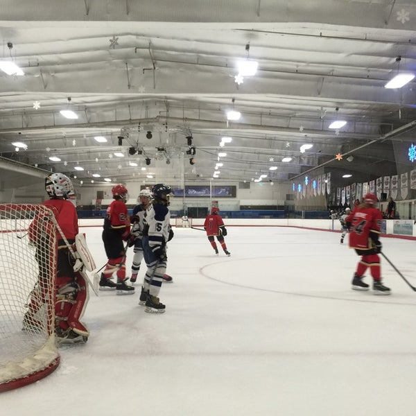 Photo taken at San Diego Ice Arena by china on 11/23/2014