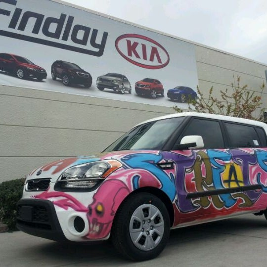 Photo Taken At Findlay Kia By Marc L. On 3/12/2012