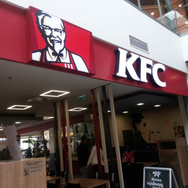 About KFC. KFC Corporation, based in Louisville, Ky., is the world's most popular chicken restaurant chain specializing in Original Recipe®, Extra Crispy™, Kentucky Grilled Chicken® and Crispy Strips with home-style sides, Hot Wings, and freshly made chicken .