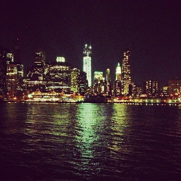Photo taken at Brooklyn Bridge Park by Levi M. on 10/22/2012