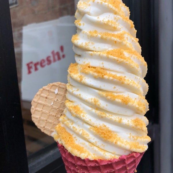 Photo taken at Soft Swerve Ice Cream by Mike C. on 4/6/2018
