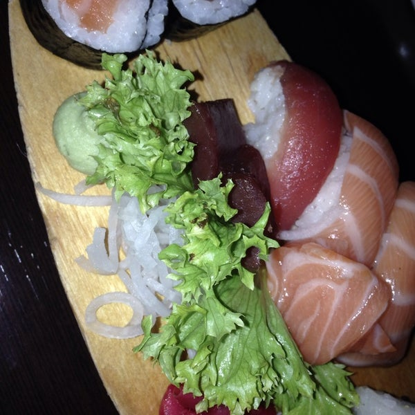 Photo taken at Sushi Club by Vicky R. on 1/25/2014