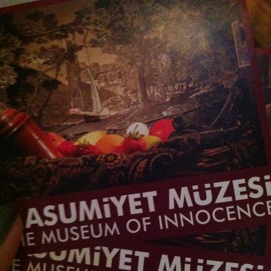 9/27/2012 tarihinde Nurziyaretçi tarafından Masumiyet Müzesi'de çekilen fotoğraf