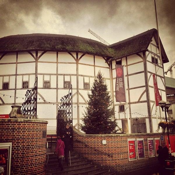 Photo taken at Shakespeare's Globe Theatre by Krisztian B. on 12/29/2012