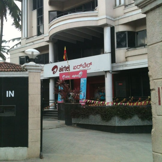 Photo taken at Airtel Relationship Center by Siddharth M. on 11/5/2012